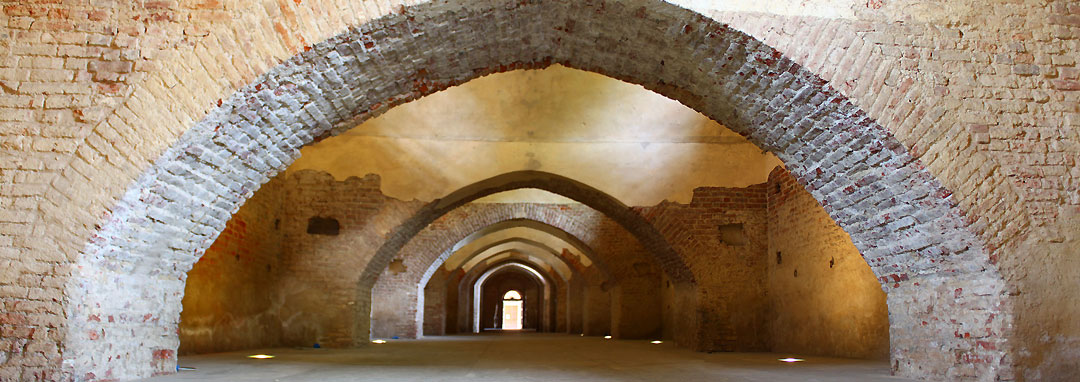 Il Castello sforzesco di Vigevano: la Cavallerizza