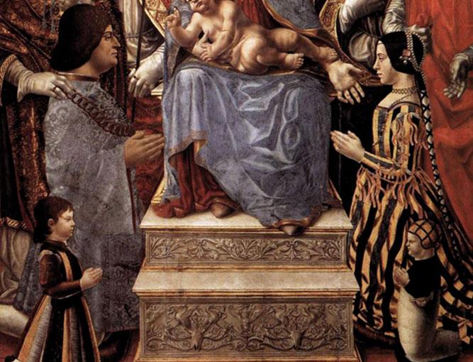 Ludovico il Moro e Beatrice d'Este nella Pala Sforzesca