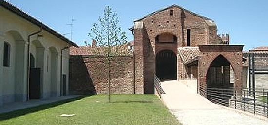 Castello Sforzesco di Vigevano: la strada coperta