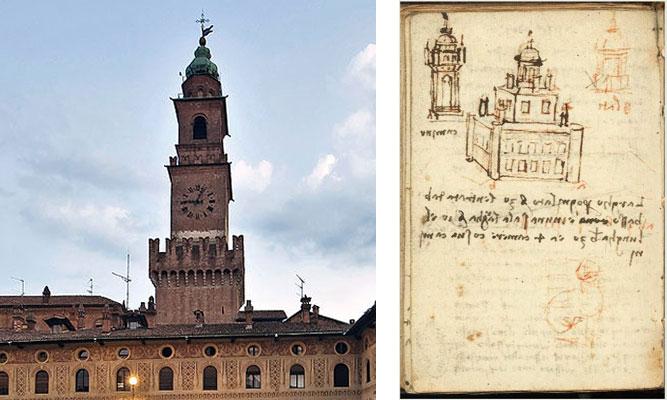 Vigevano Piazza Ducale: Torre del Bramante