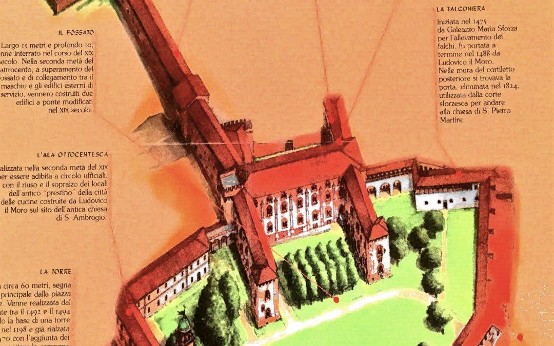 Mappa del Castello