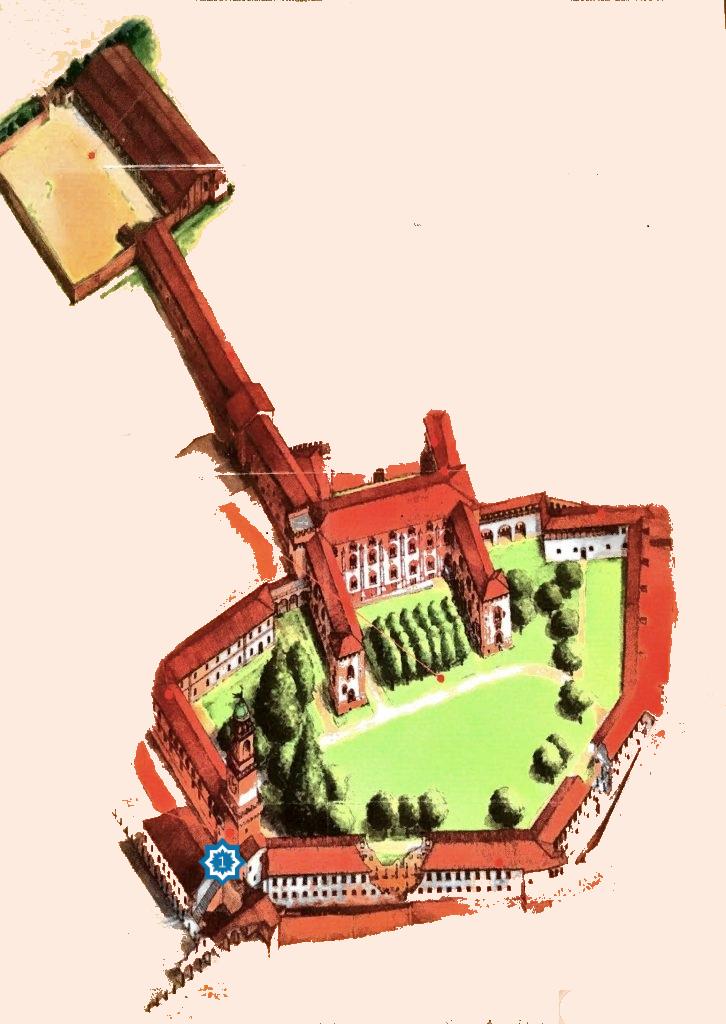 castello percorso